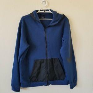 Nike Men's Sportswear Blue/Black FZ Hoodie Sz XL